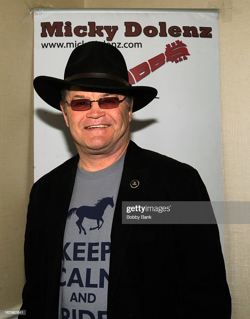 <a gi-track='captionPersonalityLinkClicked' href=/galleries/search?phrase=Micky+Dolenz&family=editorial&specificpeople=221363 ng-click='$event.stopPropagation()'>Micky Dolenz</a> attends the David T. Jones Memorial / Monkees Convention 2013 at the Sheraton Meadowlands Hotel & Conference Center on March 2, 2013 in East Rutherford, New Jersey.