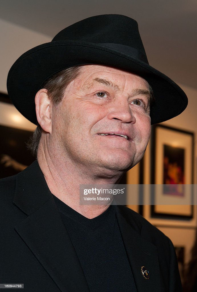 Micky Dolenz attends The Morrison Hotel Gallery Opens At The Sunset Marquis In West Hollywood on February 7, 2013 in West Hollywood, California.
