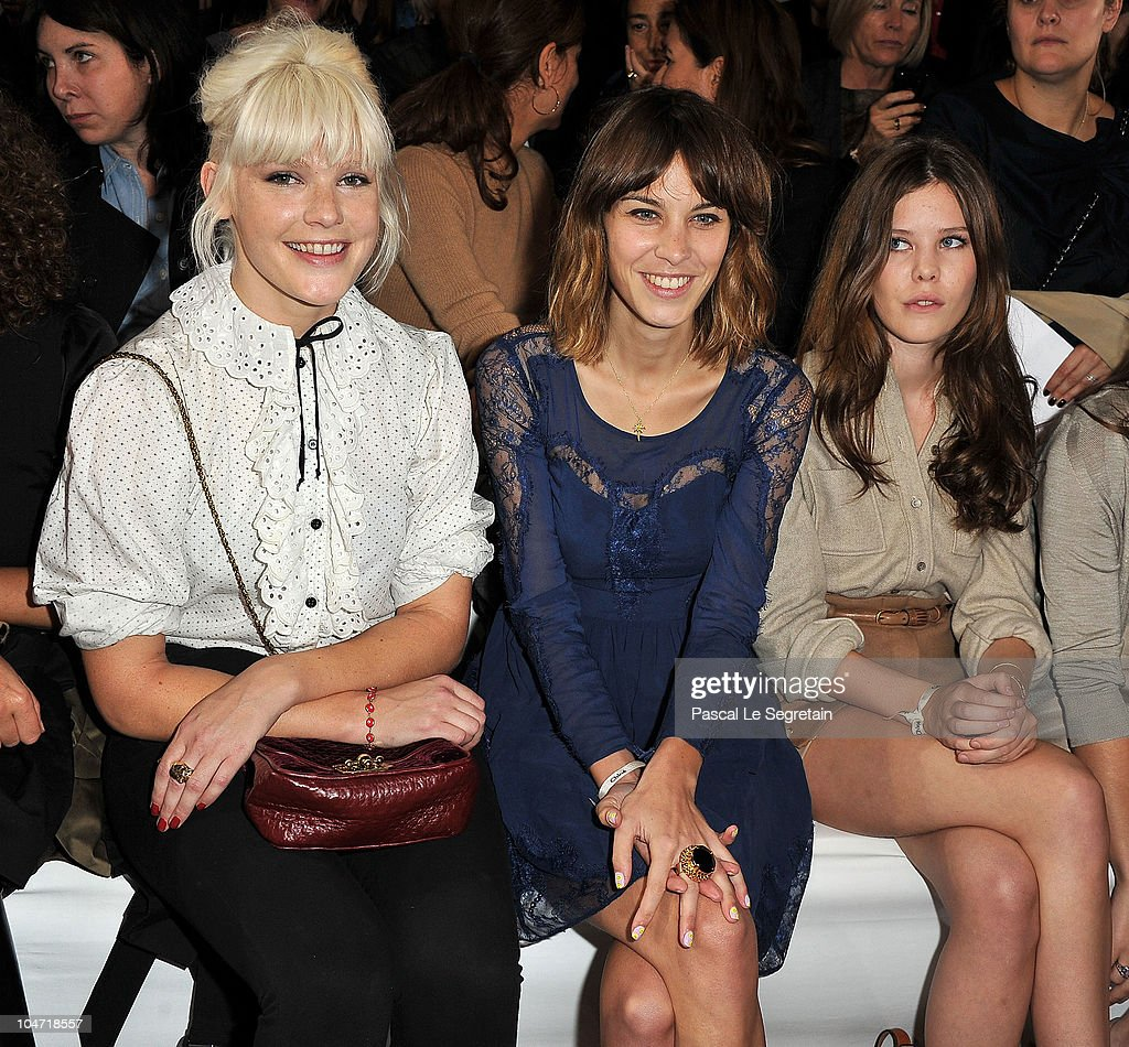 Chloe - Front Row Paris Fashion Week Spring/Summer 2011