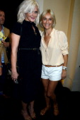 Micky Green and Vanessa Bruno attend the Bruno show as part of the Paris Fashion Week Womenswear Spring/Summer 2014 at the Grand Palais on September...