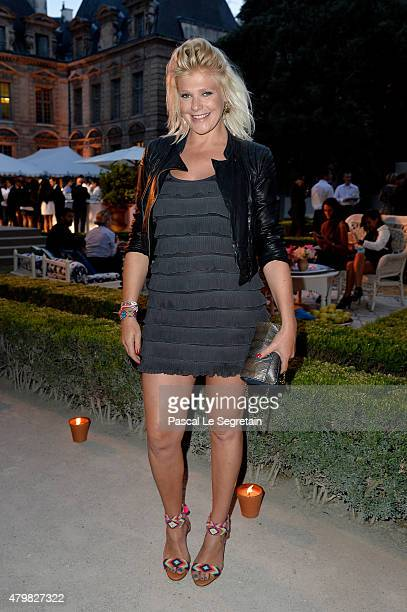 Micky Green attends the Tory Burch Paris Flagship store opening after party at on July 7 2015 in Paris France