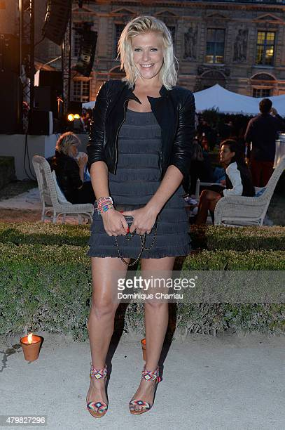 Micky Green attends Tory Burch Paris Flagship Opening after party on July 7 2015 in Paris France