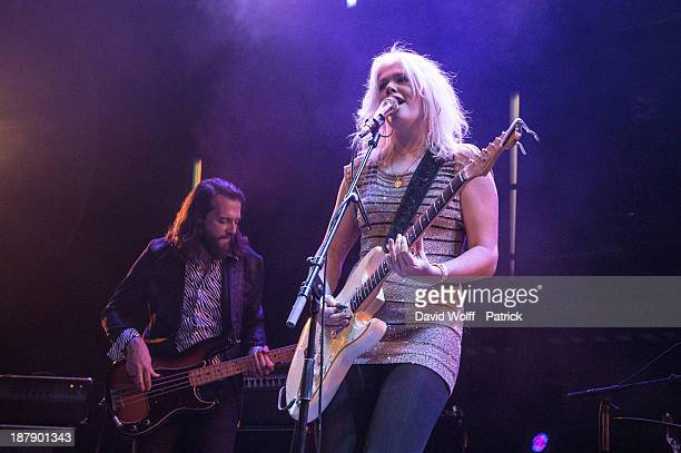 Micky Green performs at La Gaite Lyrique on November 13 2013 in Paris France