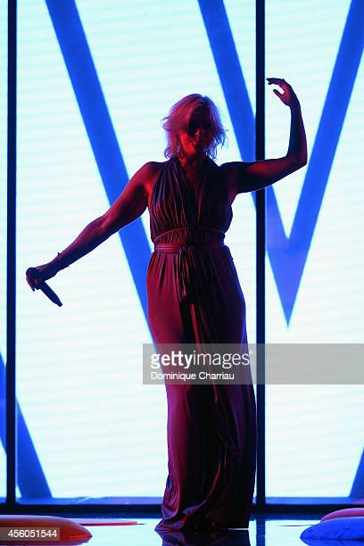Micky Green performs during the show 'The Art Of Illusion' at Palais De Tokyo on September 24 2014 in Paris France
