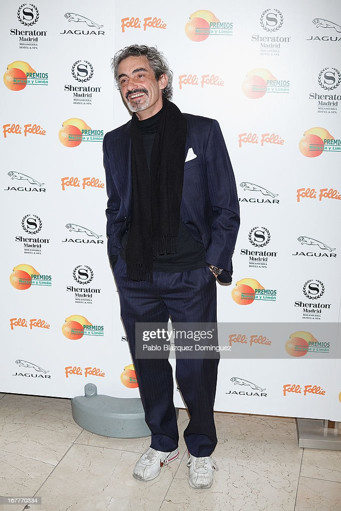 Micky Molina attends 'Orange And Lemon' Awards ceremony at Sheraton Mirasierra Hotel on April 29, 2013 in Madrid, Spain.