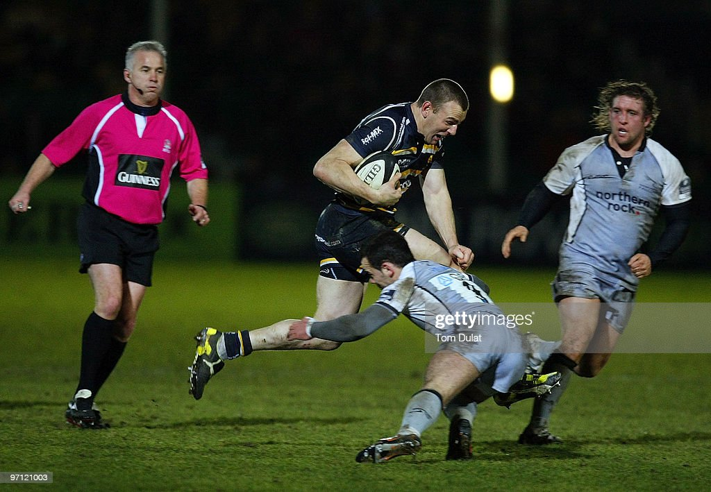 Worcester Warriors v Newcastle Falcons - Guinness Premiership