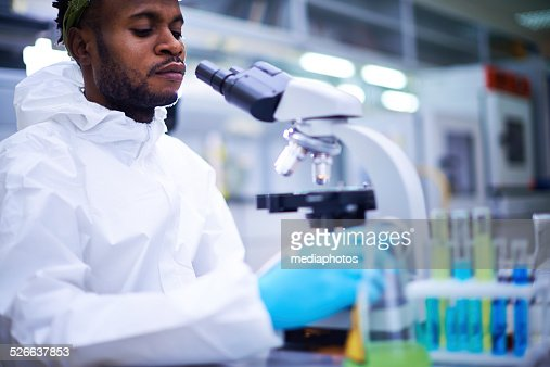 microbiologist in lab stock photo getty images