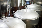 Micro-brewery vats