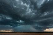 Micro-burst storm, Oklahoma, tornado alley