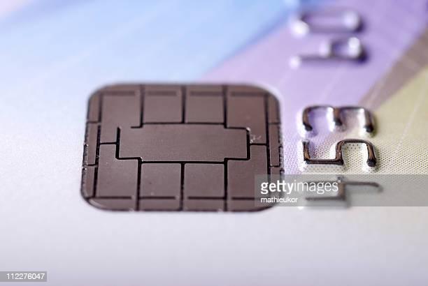 Microchip credit card
