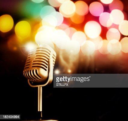 Mikrofon : Stock-Foto