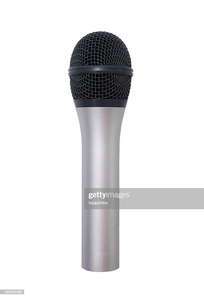 Micrófono : Foto de stock
