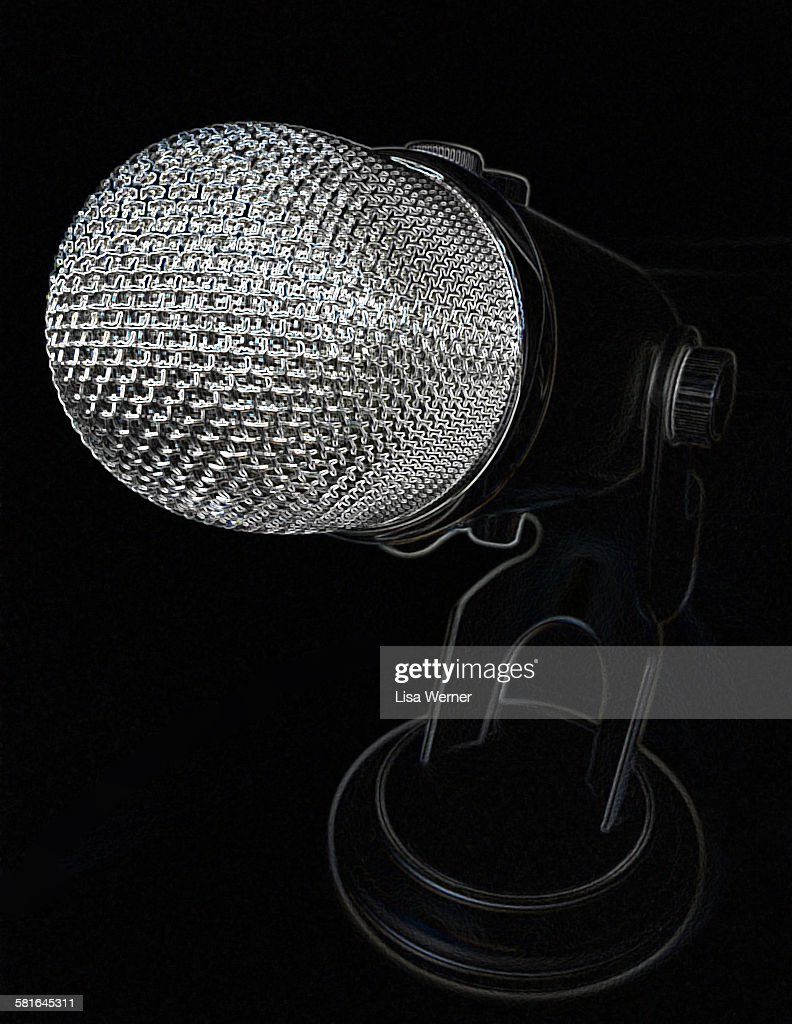 Microphone (side view)