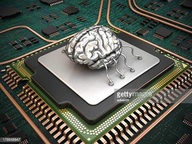 Microprocessor (CPU) with human brain