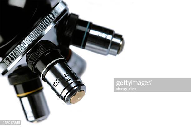 XL microscope lens close-up