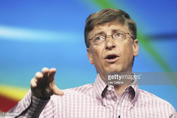 Microsoft Chairman and Chief Software Architect Bill Gates delivers his keynote address to Microsoft Professional Developers Conference in Los...