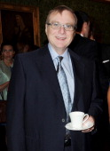 Microsoft CoFounder Paul Allen attends the DNA Summit Innovation 101 Power Breakfast in the Cholmondeley Room Terrace at the House of Lords on July...