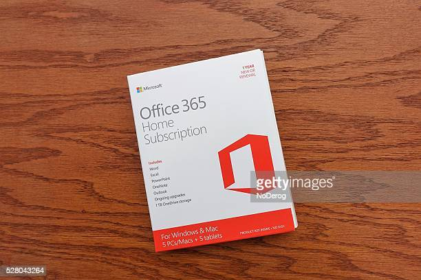 Microsoft Office 365 subscription software package