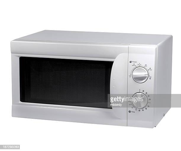 Microwave oven (clipping path), isolated on white background