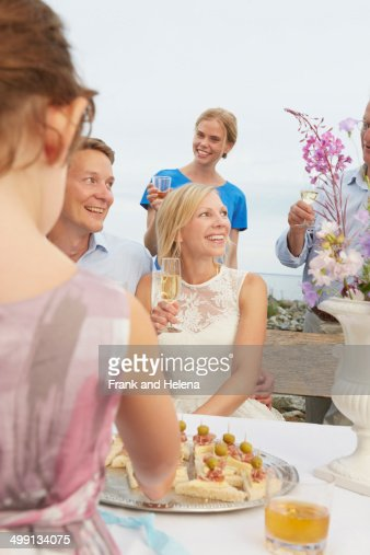 Old Man Young Woman Bride And Groom Stock Photos And Pictures