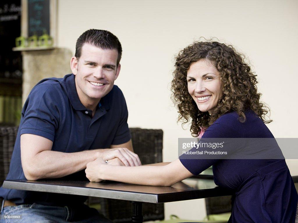 mid adult couple : Stock Photo