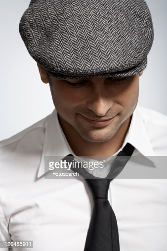 Mid adult man wearing cap