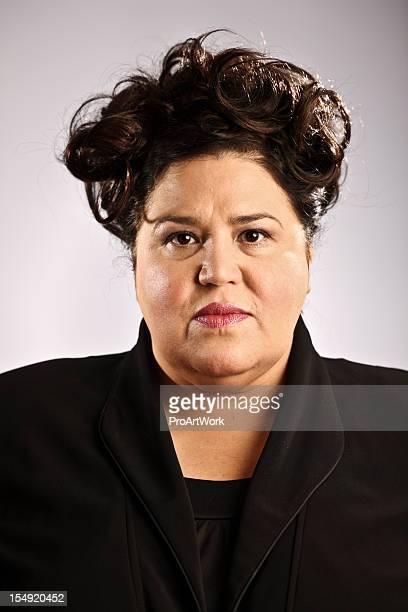 Portrait de femme d'âge moyen