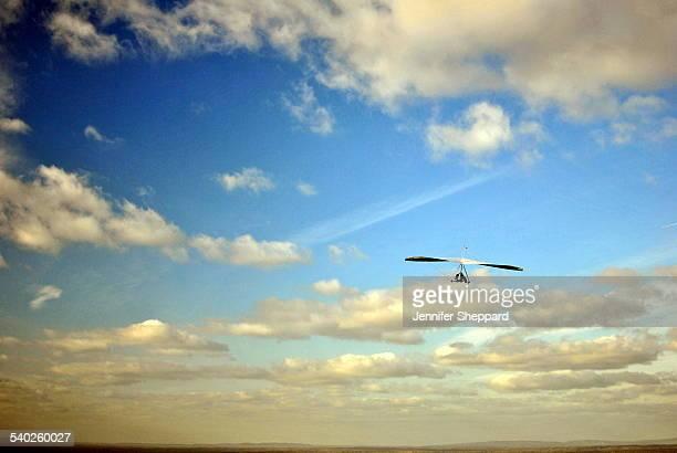 Mid Air Hang Gliding