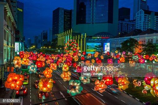 Mid autumn Latern Festival, Chinatown, Singapore