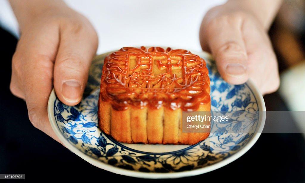 Mid Autumn Mooncake : Stock Photo