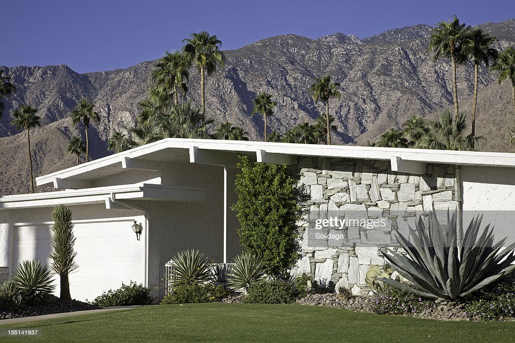 Modern Architecture Palm Springs mid century modern architecture palm springs stock photo | getty