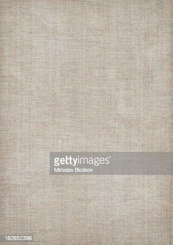 Mid gray linen textured fabric with visible weave