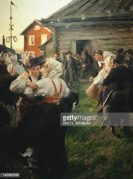 Mid Summer's dance by Anders Zorn Sweden 19th century