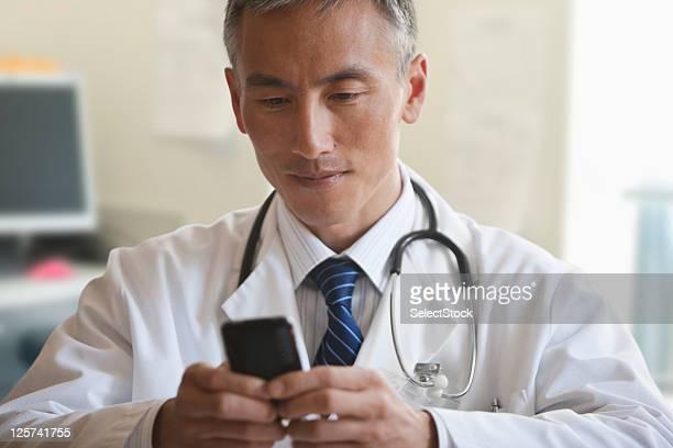 Mittleren Alter Arzt SMS