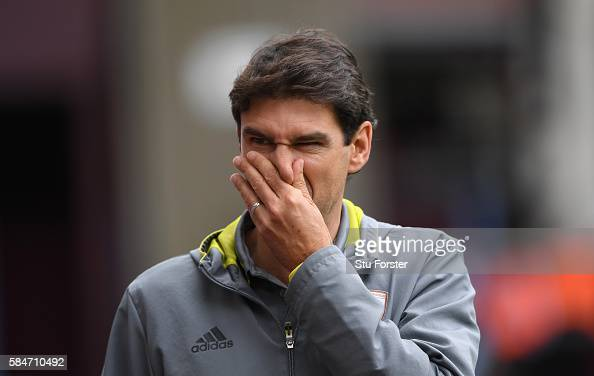 Aitor Karanka's side are currently 17th in the table. Photo: Getty