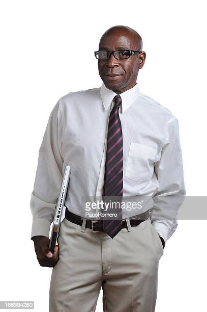 Middle age  black professional