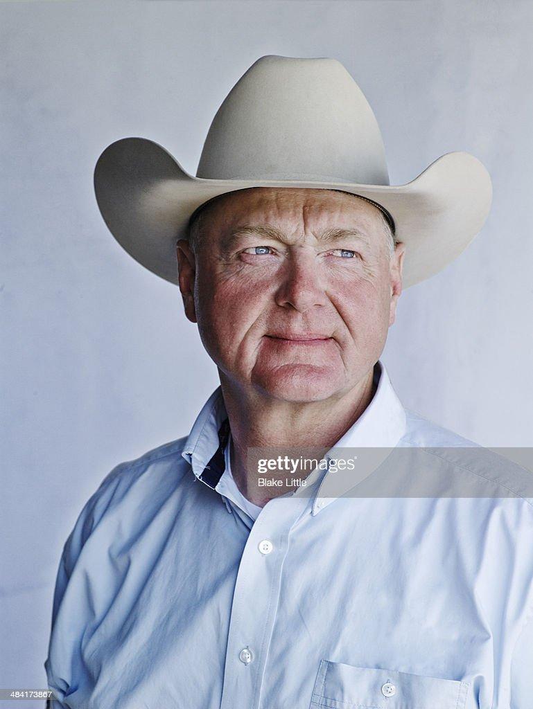 Middle Age Cowboy Rancher