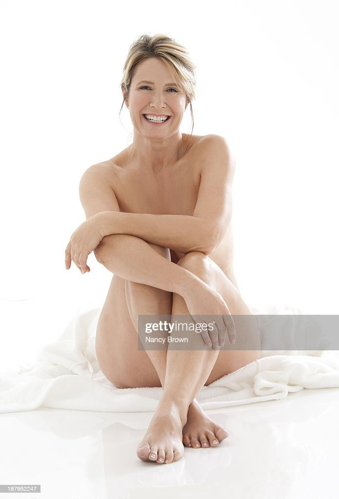 detail photo beauty shot naked mature woman high stock photography