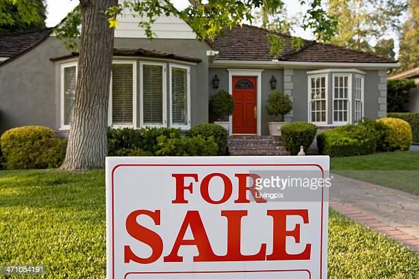 中流階級の家、レッドドアの販売