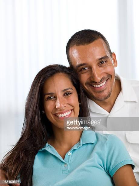 Middle Eastern Couple Portrait