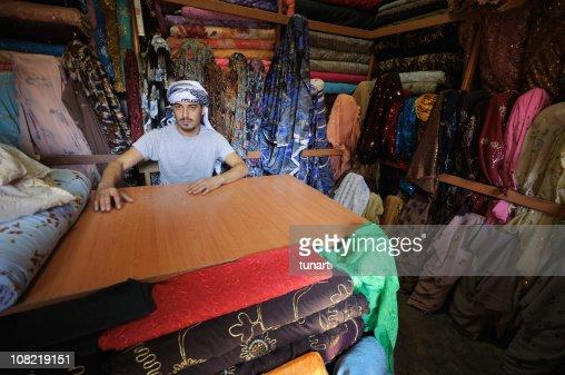 Middle Eastern Drygoods Store, Sanliurfa, Turkey