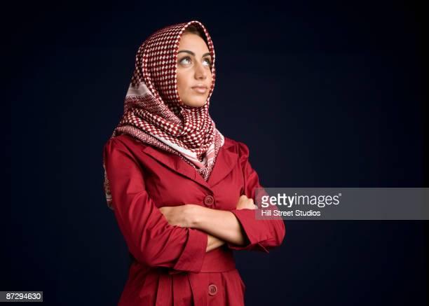 Middle Eastern woman in burkha