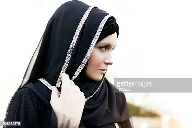中東の女性