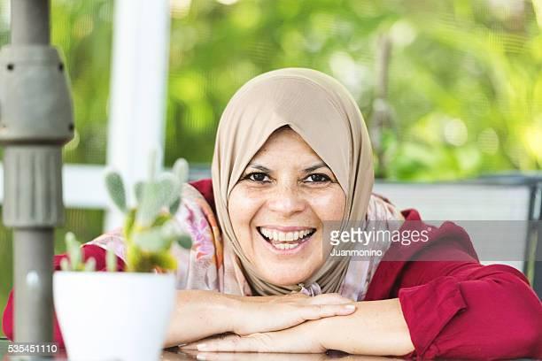 中東の女性(real 名様)