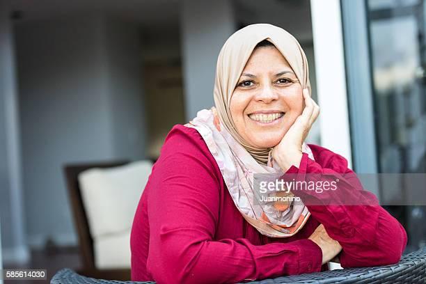 Mujer de Medio Oriente