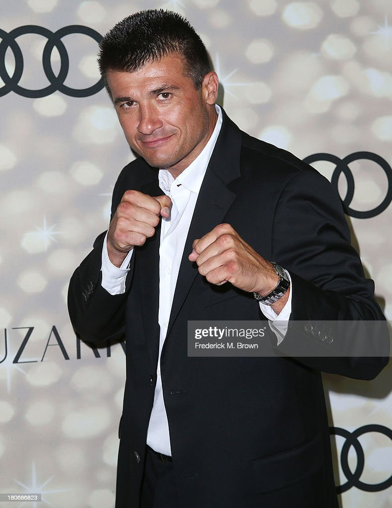 Middle Weight Boxing Champion Danny Musico attends Audi and Altuzarra's Primetime Emmy Awards Week 2013 Kick-Off Party at Cecconi's Restaurant on September 15, 2013 in Los Angeles, California.