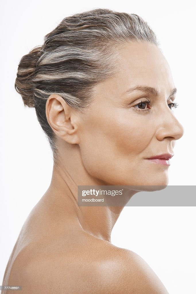 Middle-Aged Woman : Stock Photo