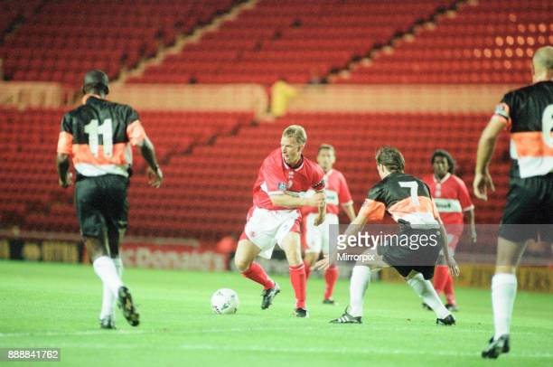 Middlesbrough 10 Barnet League Cup match at the Riverside Stadium Tuesday 16th September 1997