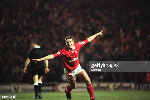 Middlesbrough 3 2 Hednesford Town FA Cup 4th round match held at the Riverside Stadium JanAage Fjortoft 25th January 1997