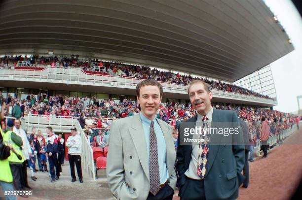 Middlesbrough chairman Steve Gibson and Chief Executive Keith Lamb at the first game at the new Riverside Stadium against Chelsea Final Score Chelsea...